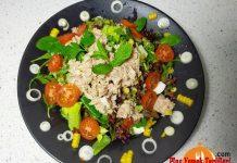 Ton Balıklı Rokalı Salata Tarifi